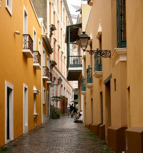 Old San Juan Alley