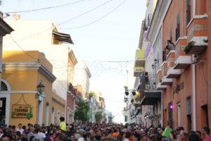 San Sebastián Festival crowd