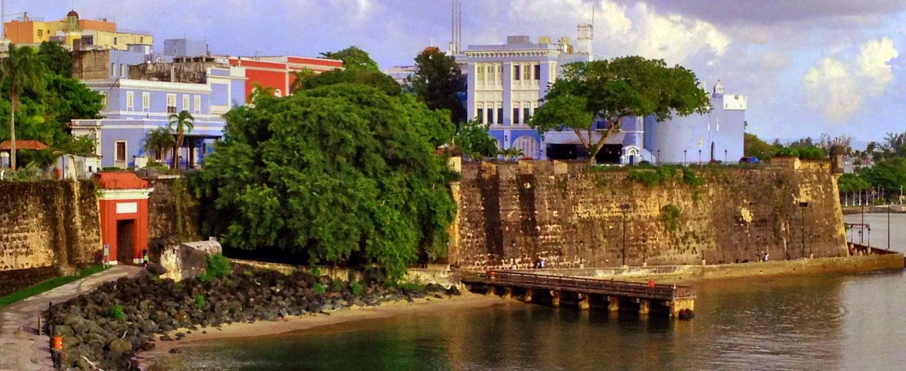 A Walk Along Paseo De La Princesa Tour Old San Juan